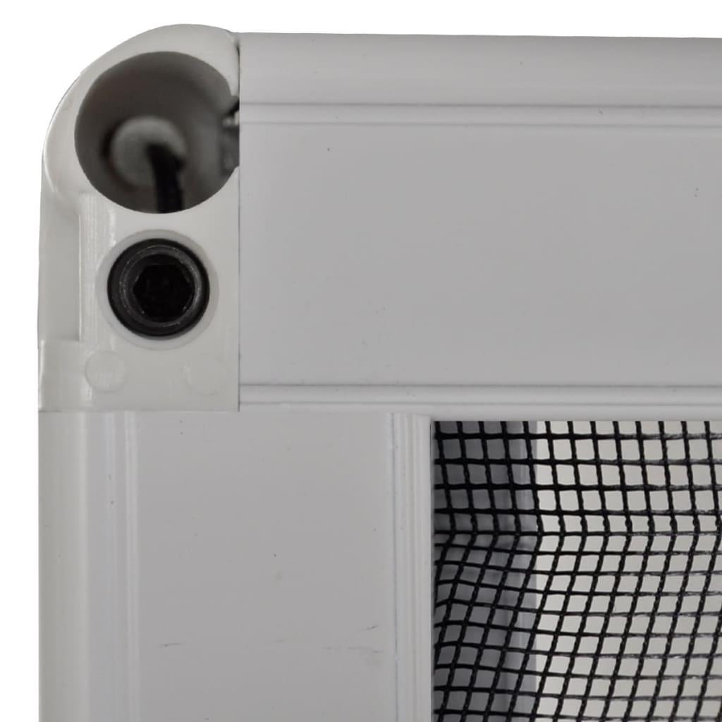 #575351 Rede anti insectos de alumínio para janela 160 x 80 cm www.vidaxl  840 Manutenção De Janelas De Aluminio No Abc