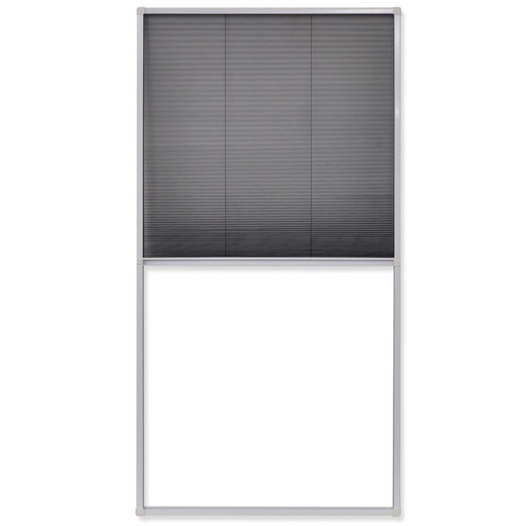 Acheter vidaxl moustiquaire pliss e pour fen tre 160 x 80 - Moustiquaire porte fenetre pas cher ...