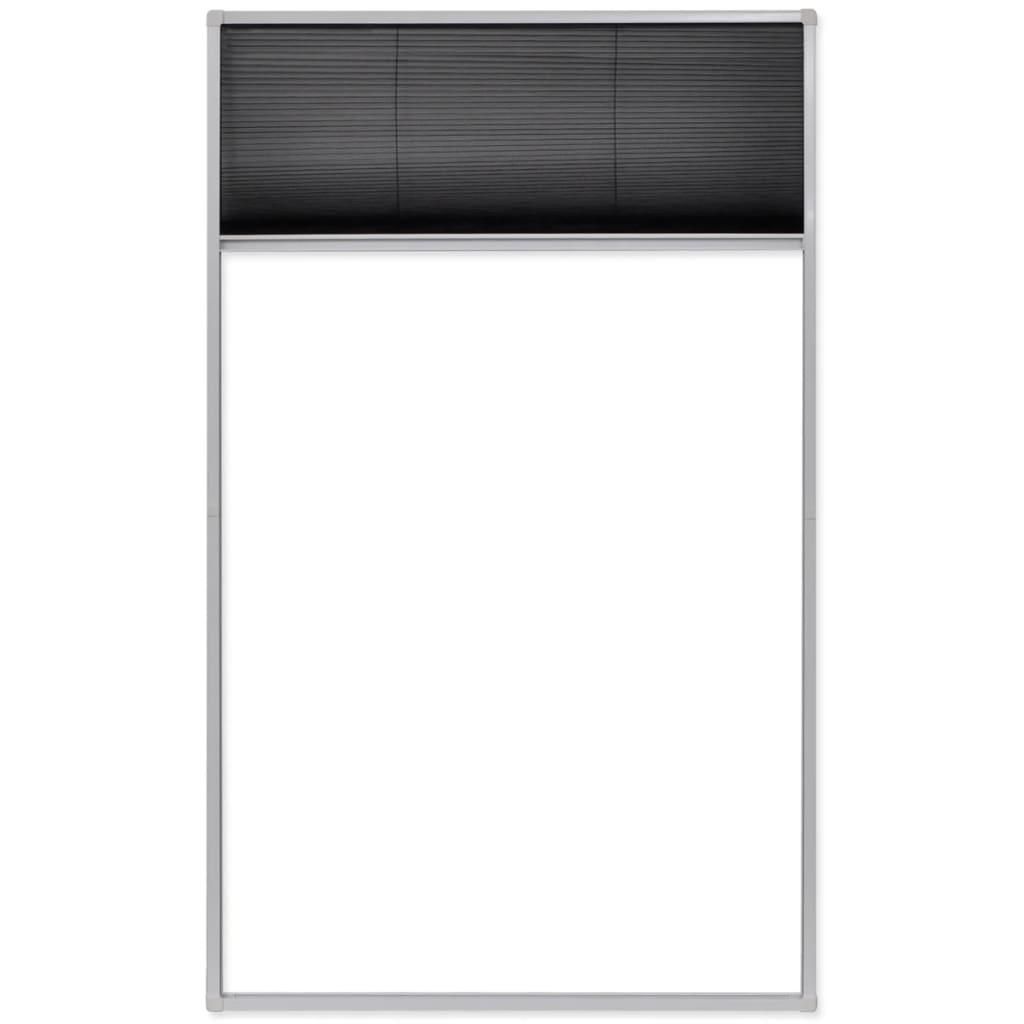 #5A5A71 Rede anti insectos de alumínio para janela 160 x 110 cm www.vidaxl  832 Manual De Montagem De Janela De Aluminio