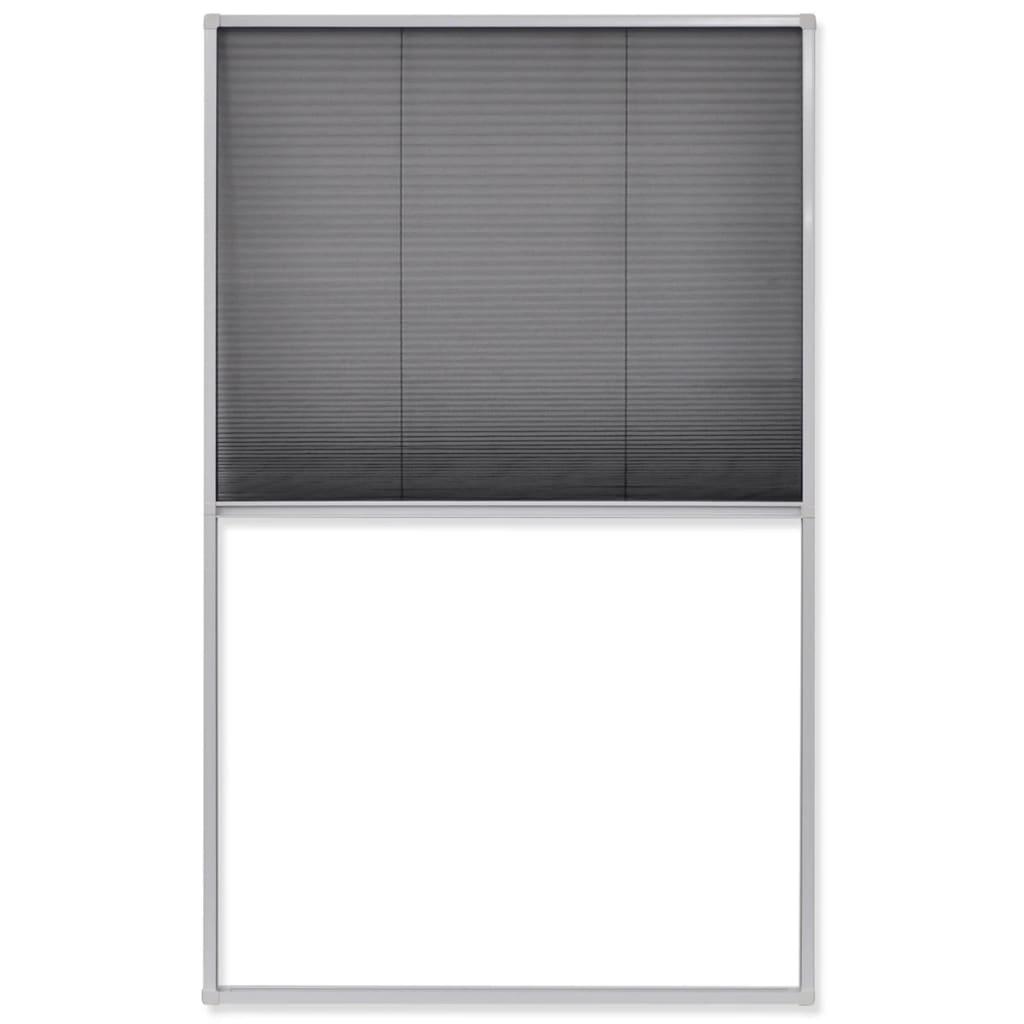 #61616A Rede anti insectos de alumínio para janela 160 x 110 cm www.vidaxl  832 Manual De Montagem De Janela De Aluminio