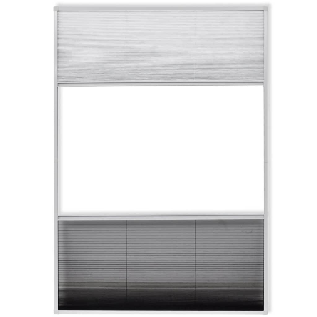 La boutique en ligne vidaxl moustiquaire pliss e pour for Fenetre 50 x 80
