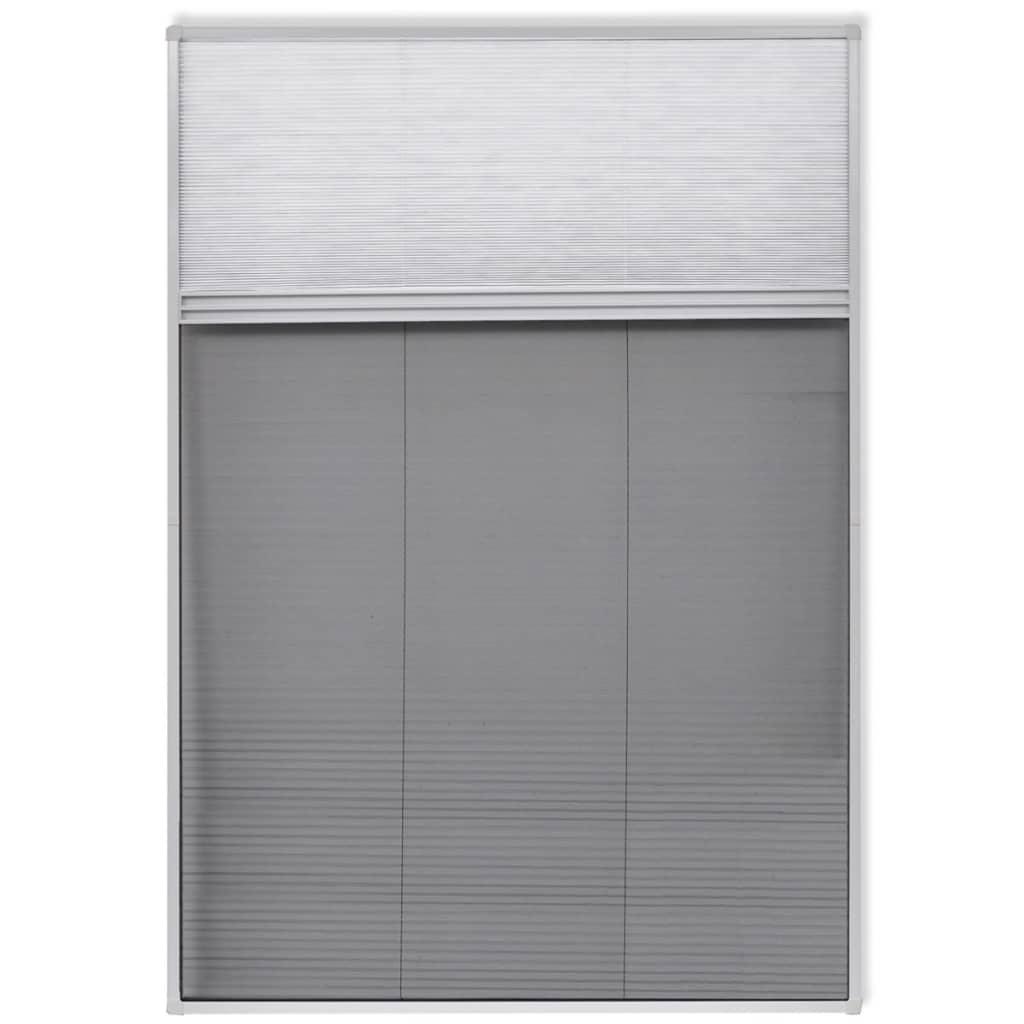 #656269 Rede anti insectos de alumínio para janela 160 x 80 cm com sombra[2  832 Manual De Montagem De Janela De Aluminio