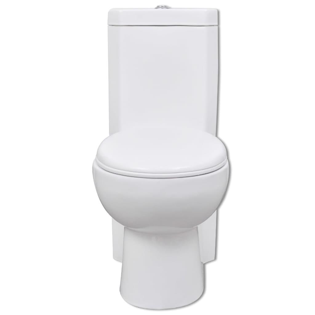 Acheter wc cuvette c ramique blanc pas cher for Baignoire ceramique pas cher