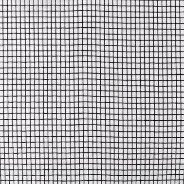 acheter toile moustiquaire de porte fen tre fibre de verre 100x1000cm noir pas cher. Black Bedroom Furniture Sets. Home Design Ideas