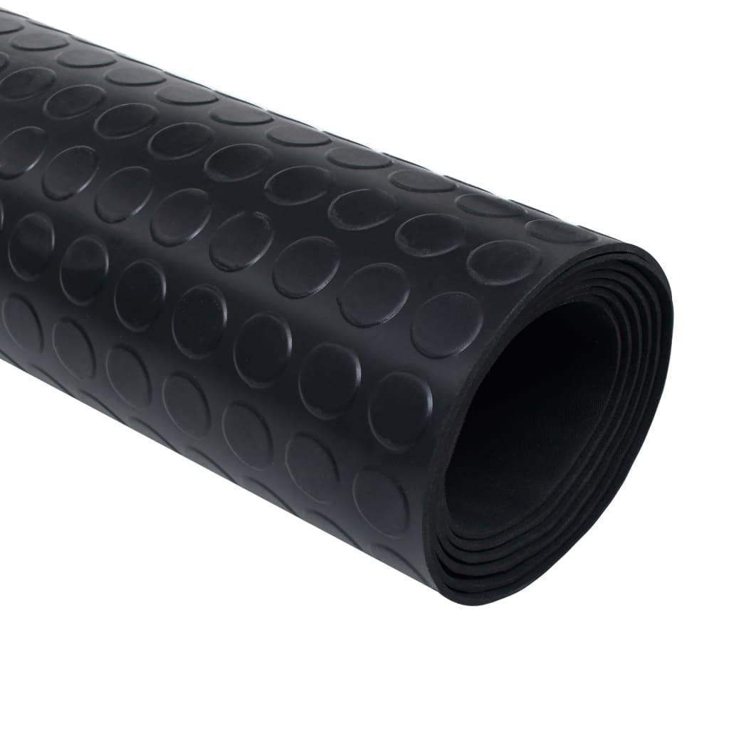 Tapete antiderrapante de borracha com pontos 2 x 1 m www.vidaxl.pt #5A6171 1024 1024