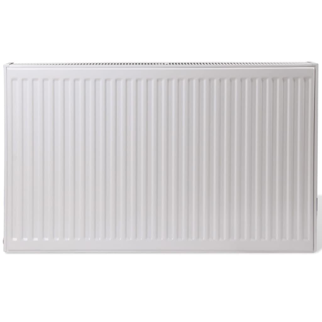 acheter radiateur convecteur central horizontal double blanc 120 x 10 x 60 cm pas cher. Black Bedroom Furniture Sets. Home Design Ideas