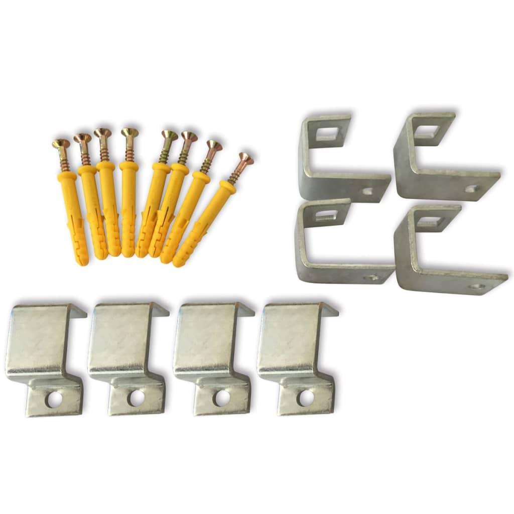 Acheter grilles de s curit pour fen tre 69 x 114 cm pas for Grille de securite fenetre