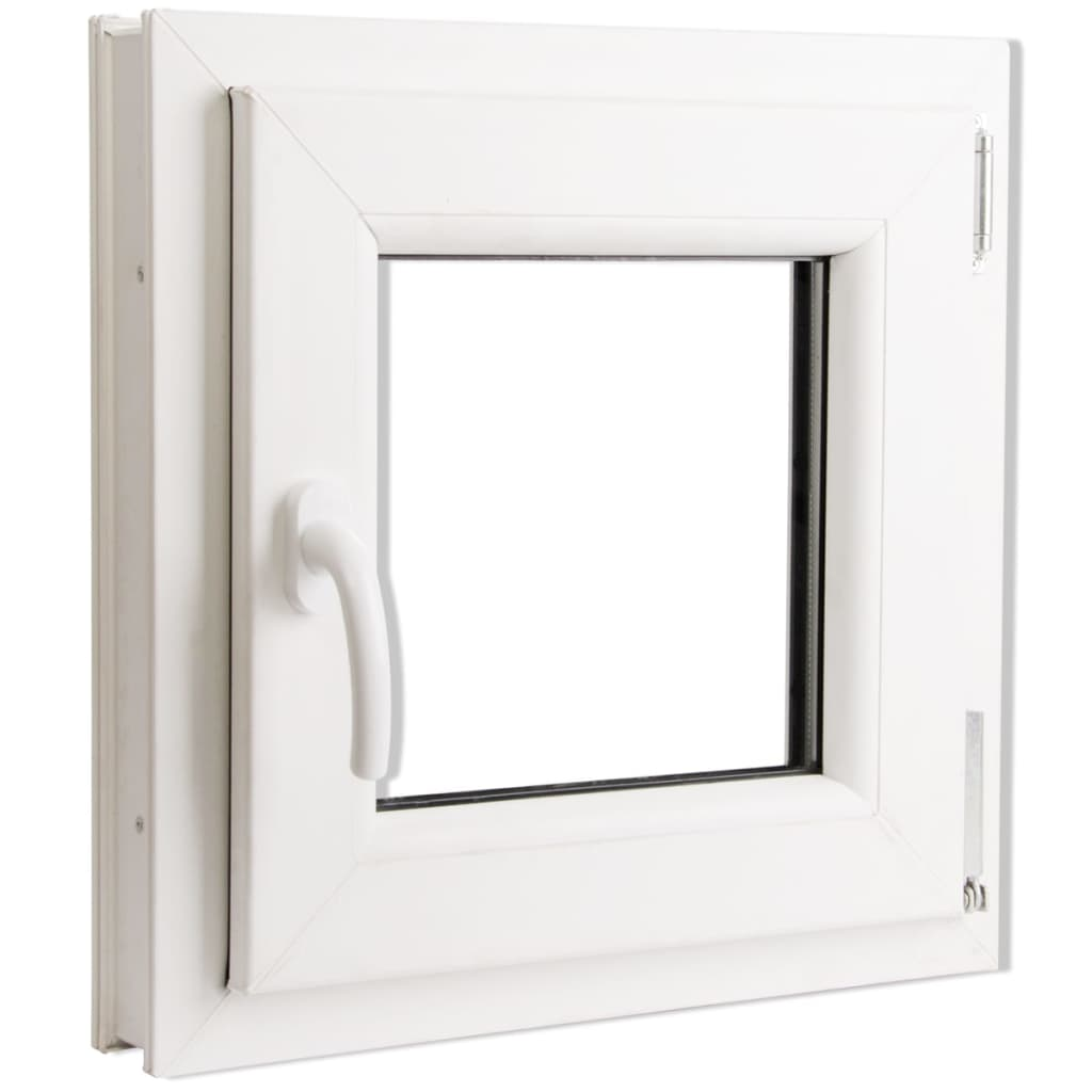 #bNEW Tilt Turn PVC Window Frame&Glass Handle on Left/Right 12 Size Selectable