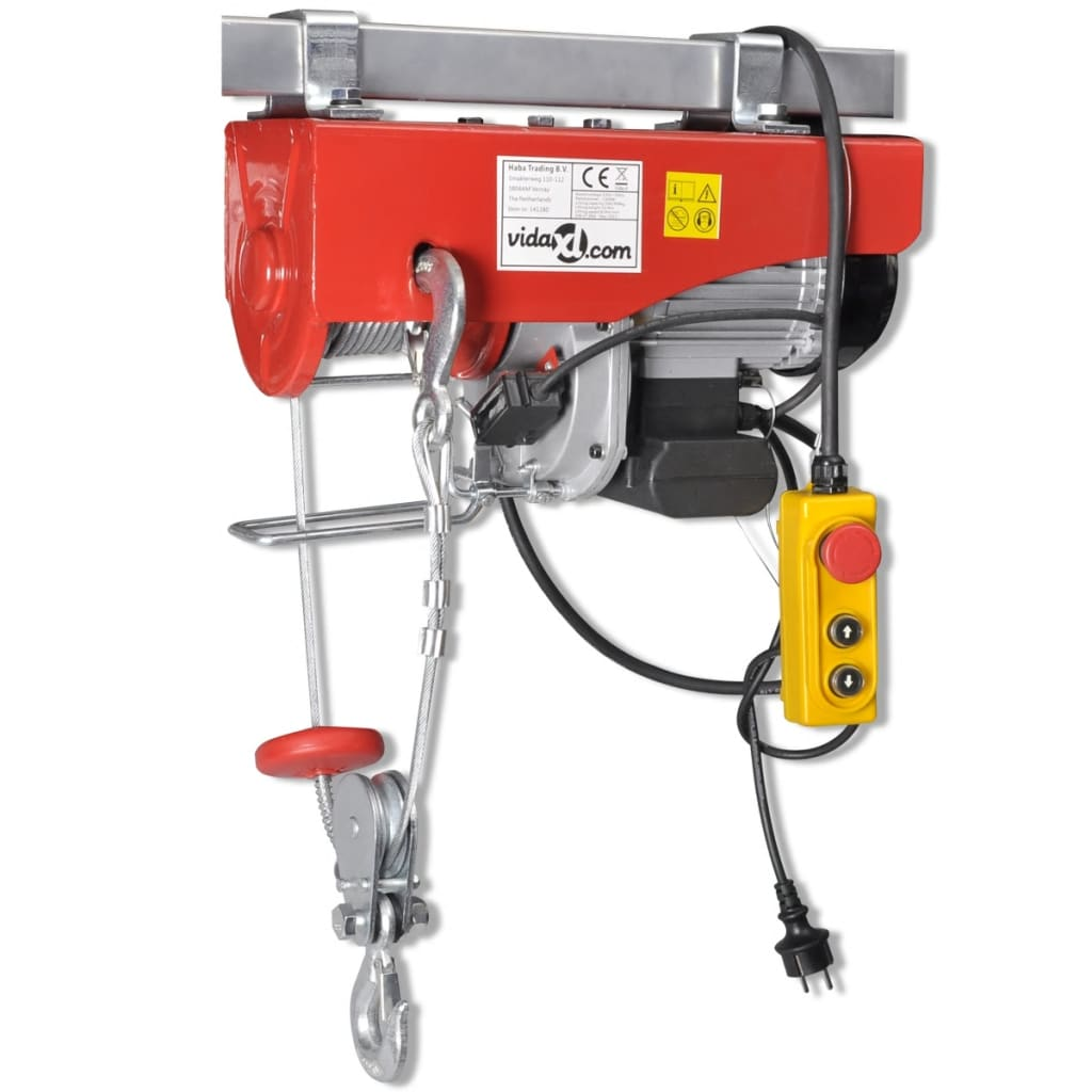 Elektrisk Vinsch 1300 W 500/999 kg