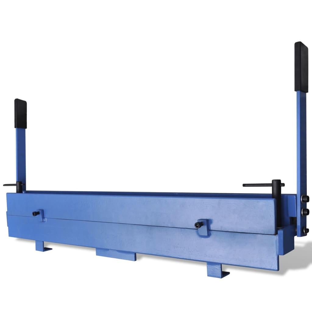 vidaXL Manuelle Blechbiegemaschine 930 mm