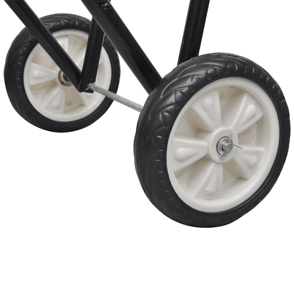 La boutique en ligne chariot porte selle pliable m tal avec roues - Chariot porte roue tracteur ...