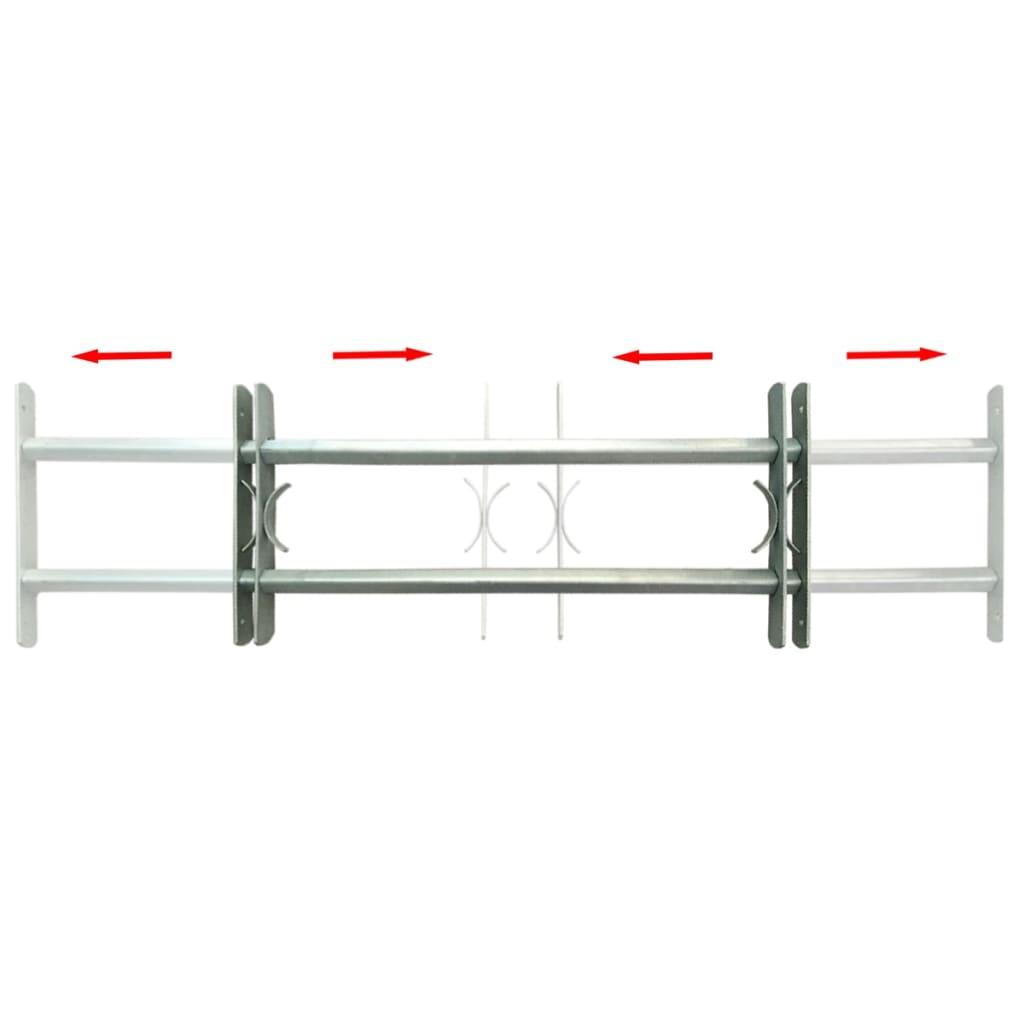 acheter grille de d fense ajustable 2 traverses pour fen tre de 1000 1500 mm pas cher. Black Bedroom Furniture Sets. Home Design Ideas