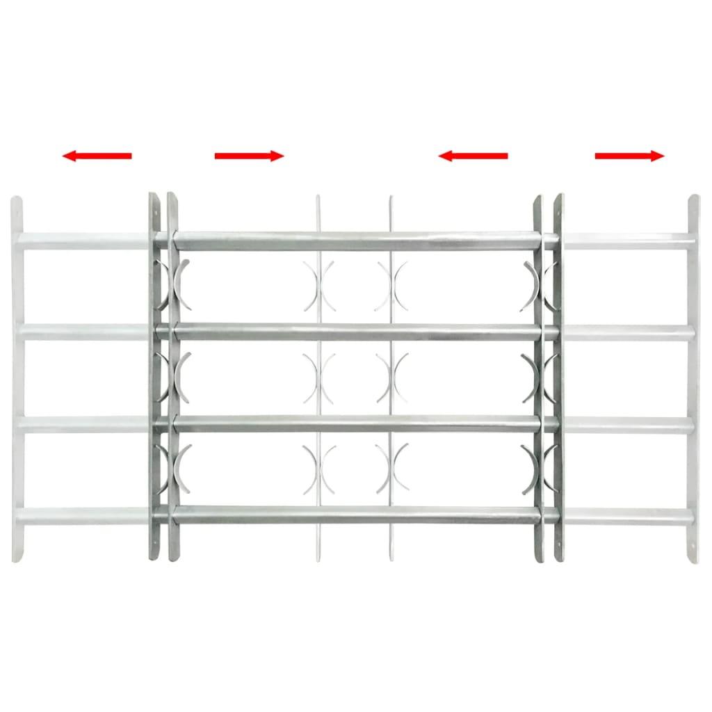 acheter grille de d fense ajustable 4 traverses pour fen tre de 1000 1500 mm pas cher. Black Bedroom Furniture Sets. Home Design Ideas