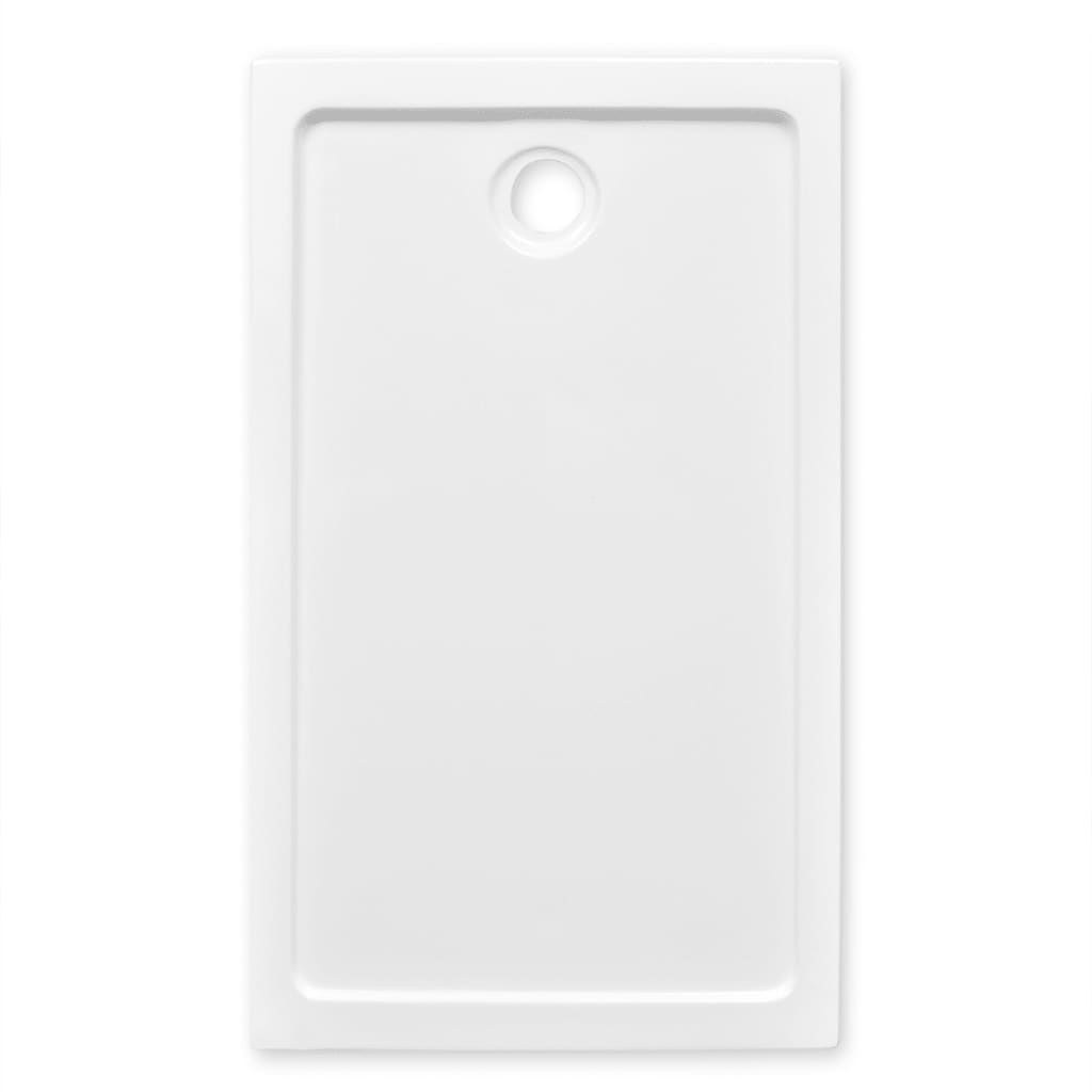 Plato de ducha rectangular de abs color blanco 70 x 120 - Plato de ducha 70 x 90 ...