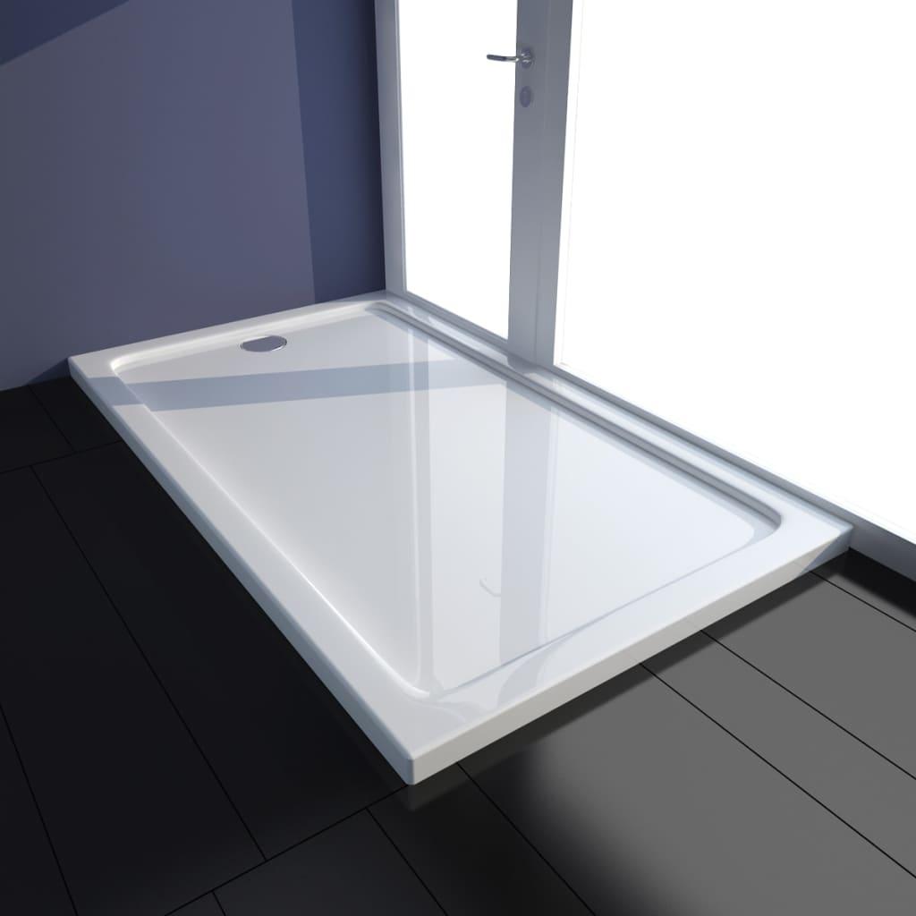 receveur de douche blanc noir receveur de douche poser avec taille au choix. Black Bedroom Furniture Sets. Home Design Ideas