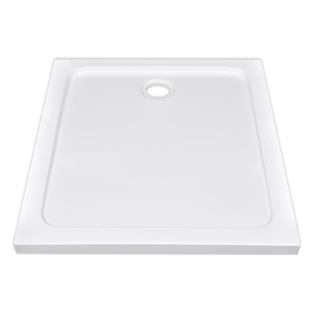 vidaXL-Plato-de-Ducha-Bandeja-Rectangulo-Antideslizante-Bano-ABS-Blanco-80x90cm