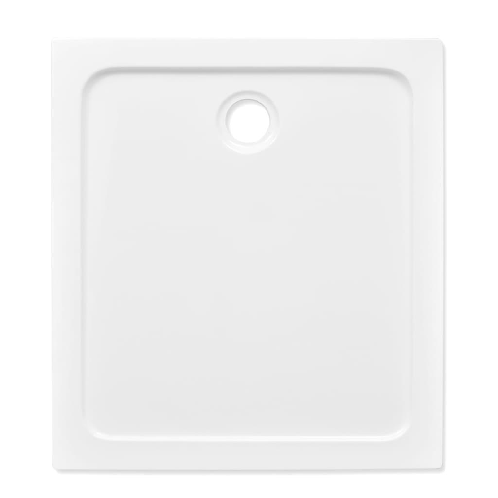 Plato de ducha rectangular de abs color blanco 80 x 90 - Plato ducha 70 x 90 ...