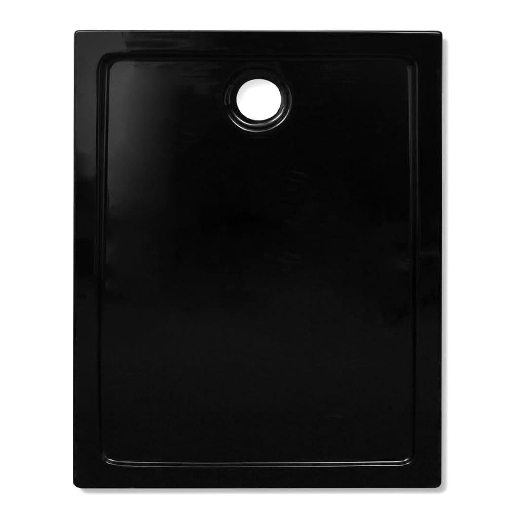 brodzik prysznicowy prostok tny abs czarny 80 x 100 cm sklep internetowy. Black Bedroom Furniture Sets. Home Design Ideas