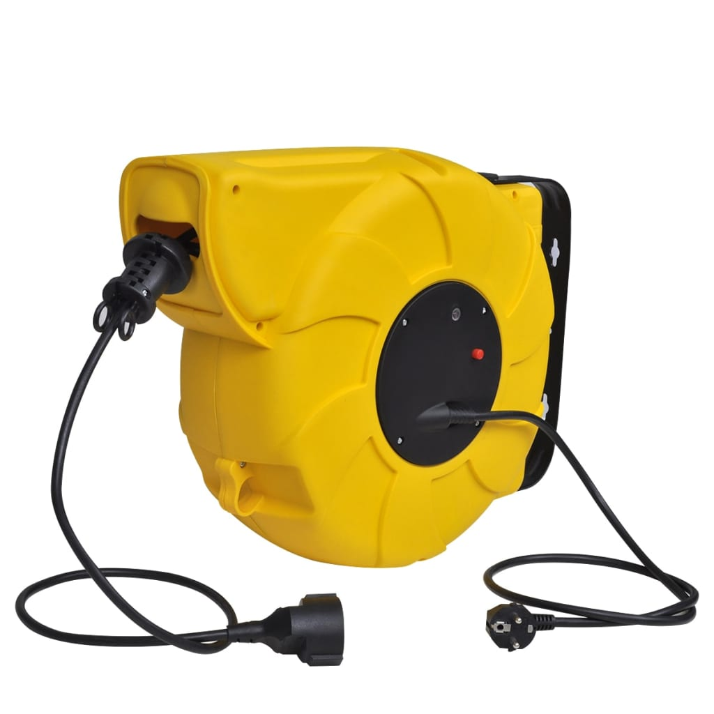 vidaxl-automatic-retractable-power-cable-reel-24-1-m-with-steel-handle