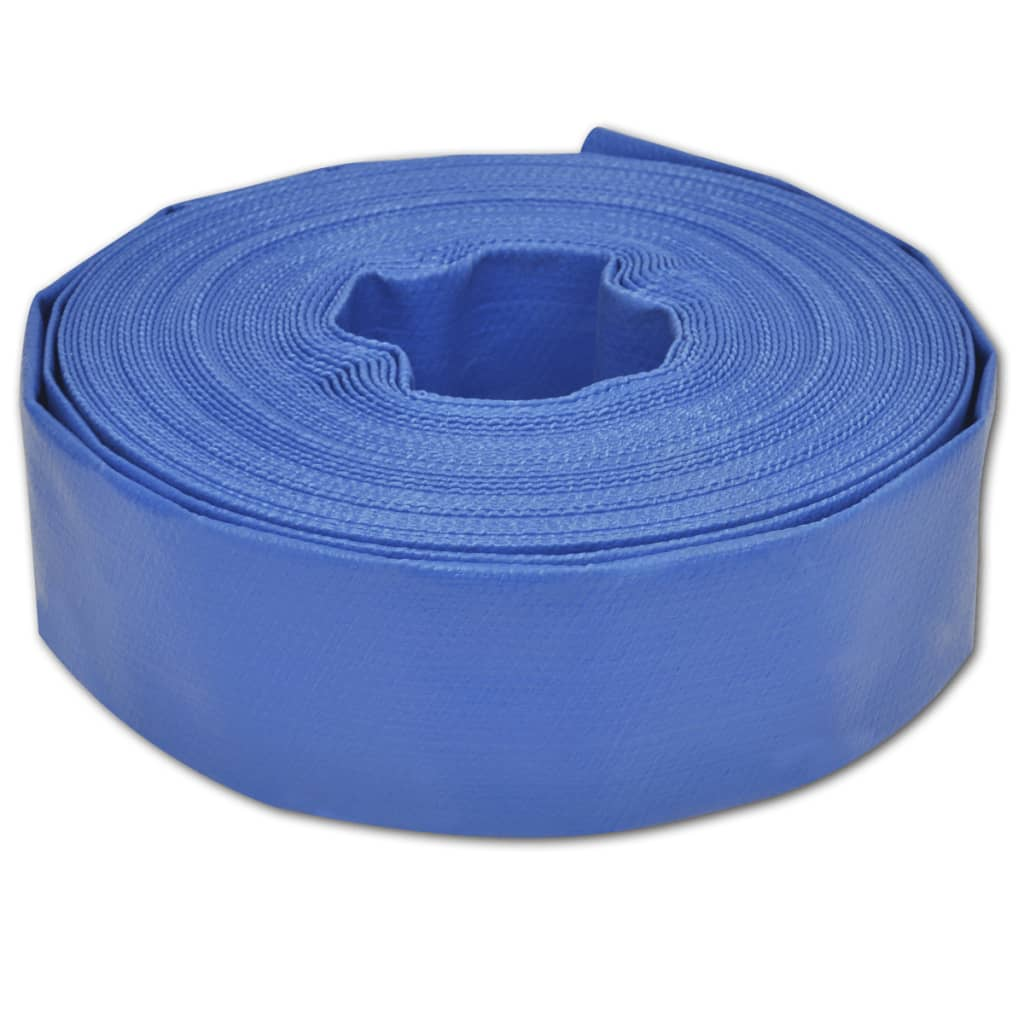 25 m 2″ PVC platt vattenslang