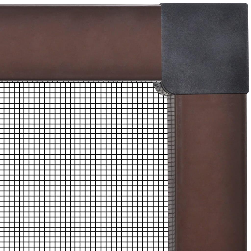 acheter moustiquaire de fen tre marron contre insecte pas. Black Bedroom Furniture Sets. Home Design Ideas