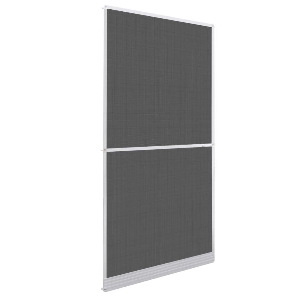 vidaXL Fehér csukló ajtós szúnyogháló 100 x 215 cm