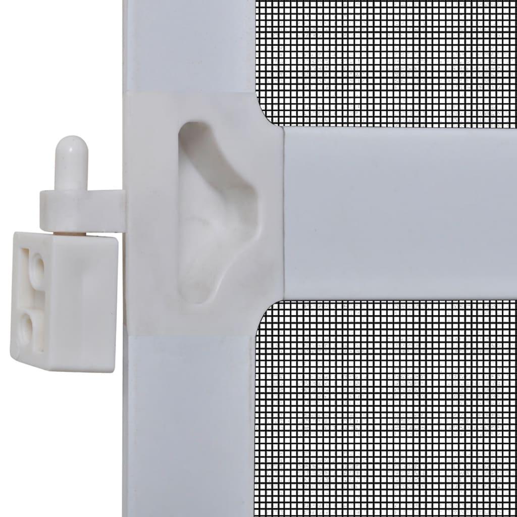 insektenschutz mit scharnieren f r t ren 120 x 240 cm wei g nstig kaufen. Black Bedroom Furniture Sets. Home Design Ideas