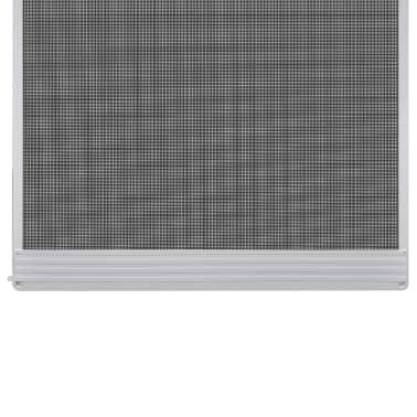 Insektnetting med hengsel for dører 120 x 240 cm hvit[3/8]