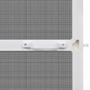 Insektnetting med hengsel for dører 120 x 240 cm hvit[4/8]