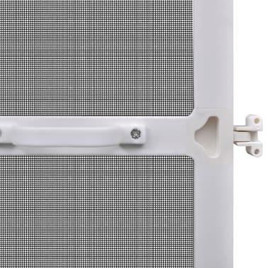 Insektnetting med hengsel for dører 120 x 240 cm hvit[6/8]