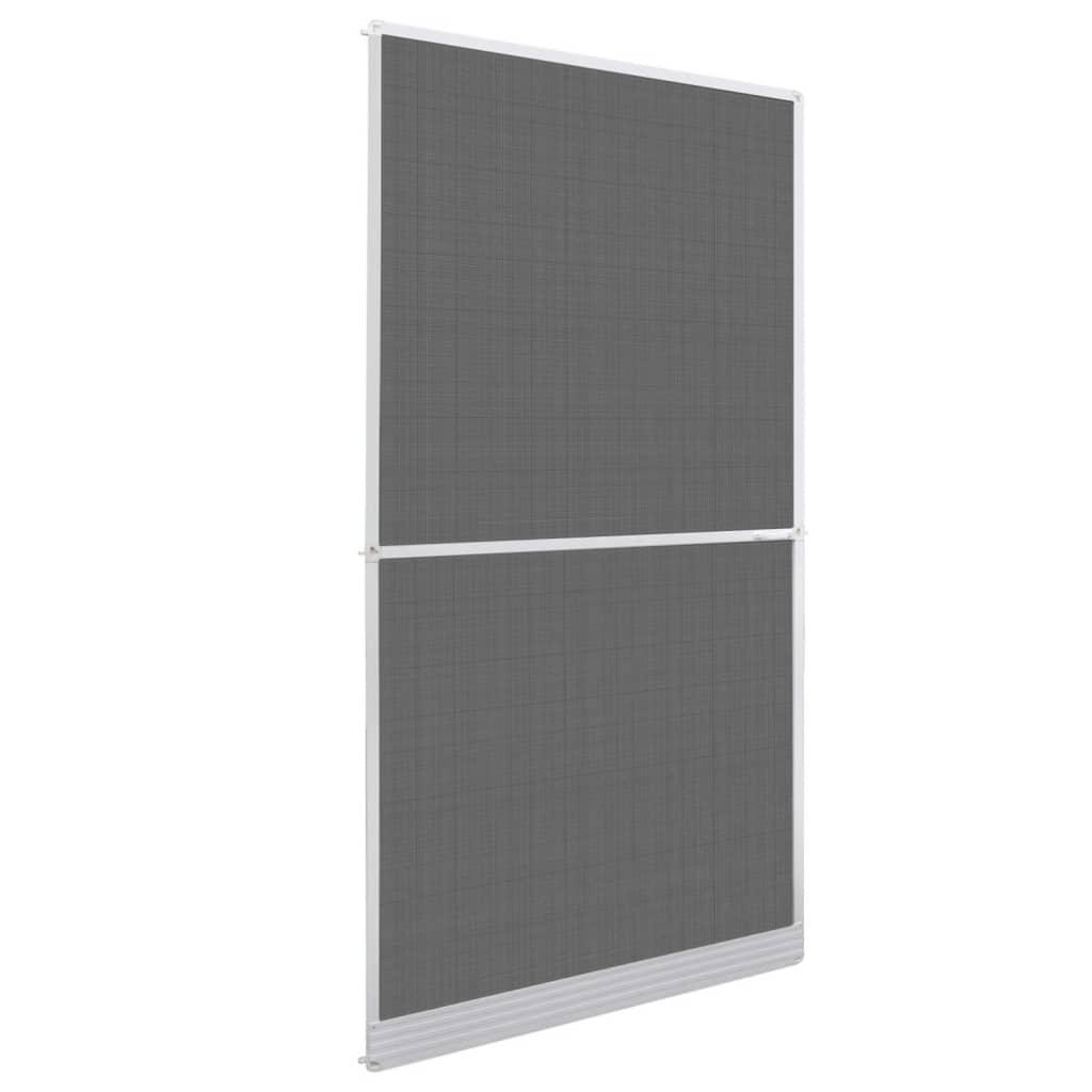 Mosquitera blanca fija para puertas abatibles 120 x 240 for Puerta exterior 120 cm