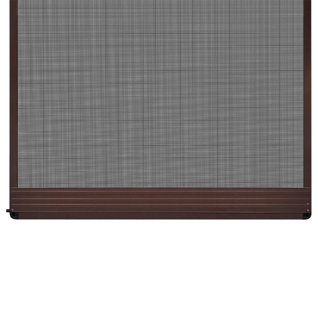 La boutique en ligne moustiquaire charni res marron pour for Porte 120 cm de large