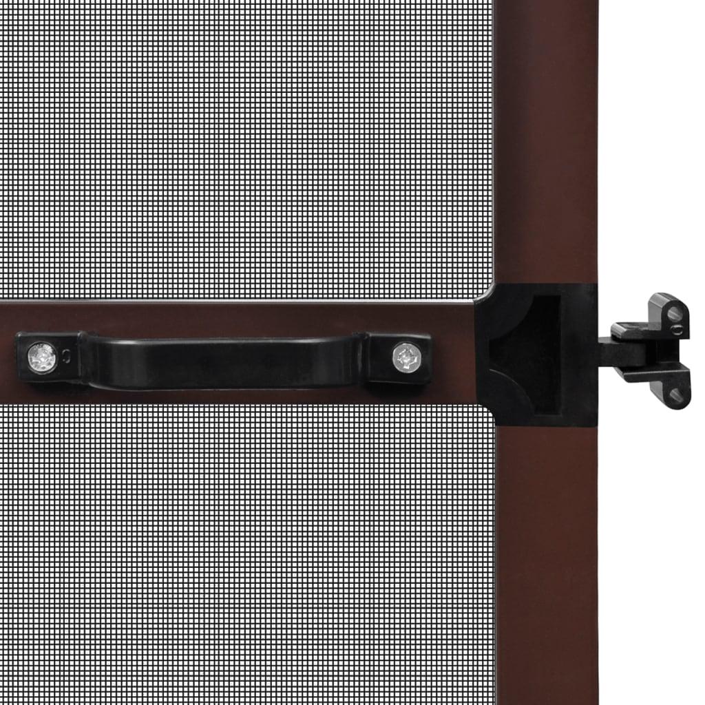 insektenschutz mit scharnieren f r t ren 120 x 240 cm braun g nstig kaufen. Black Bedroom Furniture Sets. Home Design Ideas