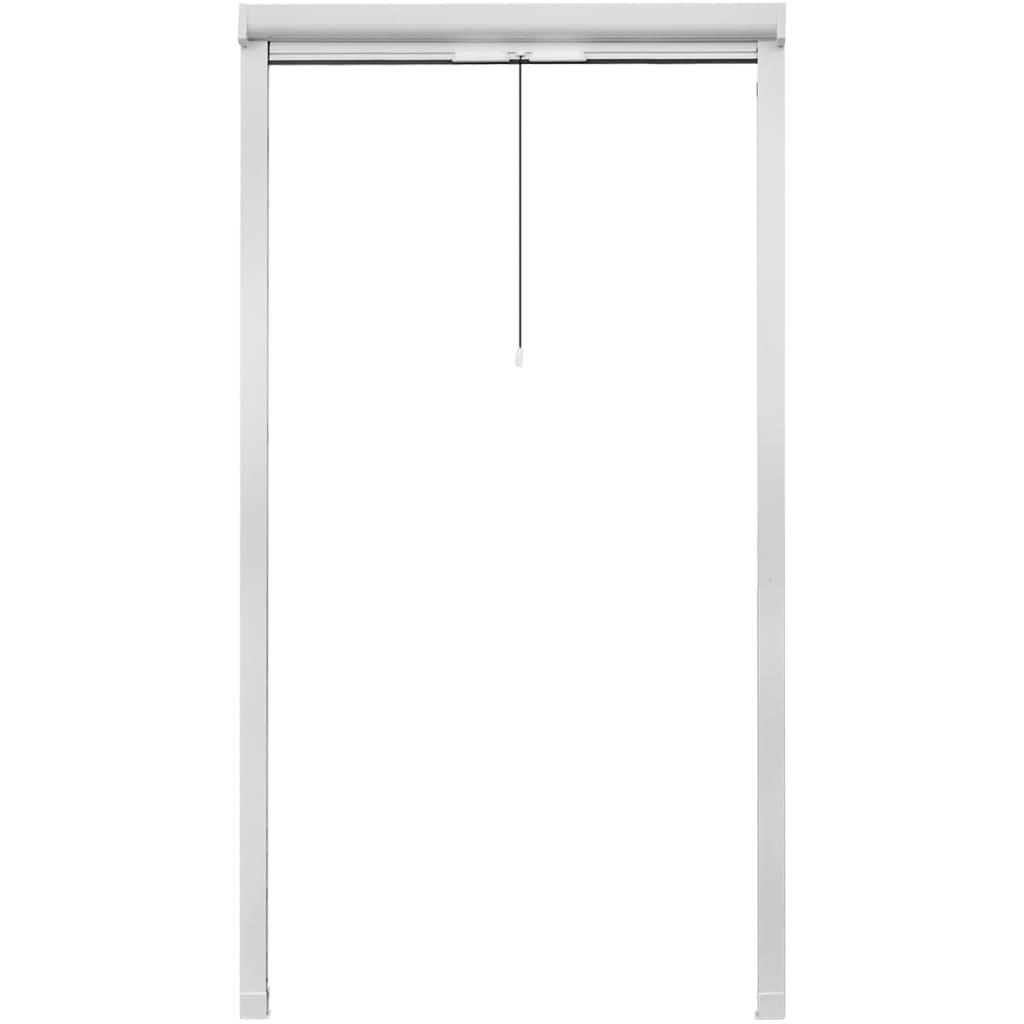 Acheter moustiquaire enroulable blanche pour fen tre 100 x for Moustiquaire fenetre enroulable