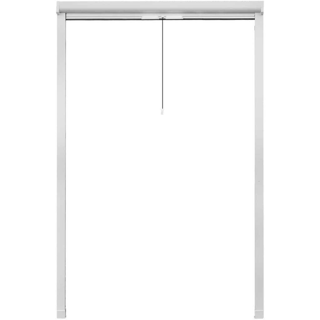 der wei es aufrollbares insektengitter f r fenster 120 x 170 cm online shop. Black Bedroom Furniture Sets. Home Design Ideas