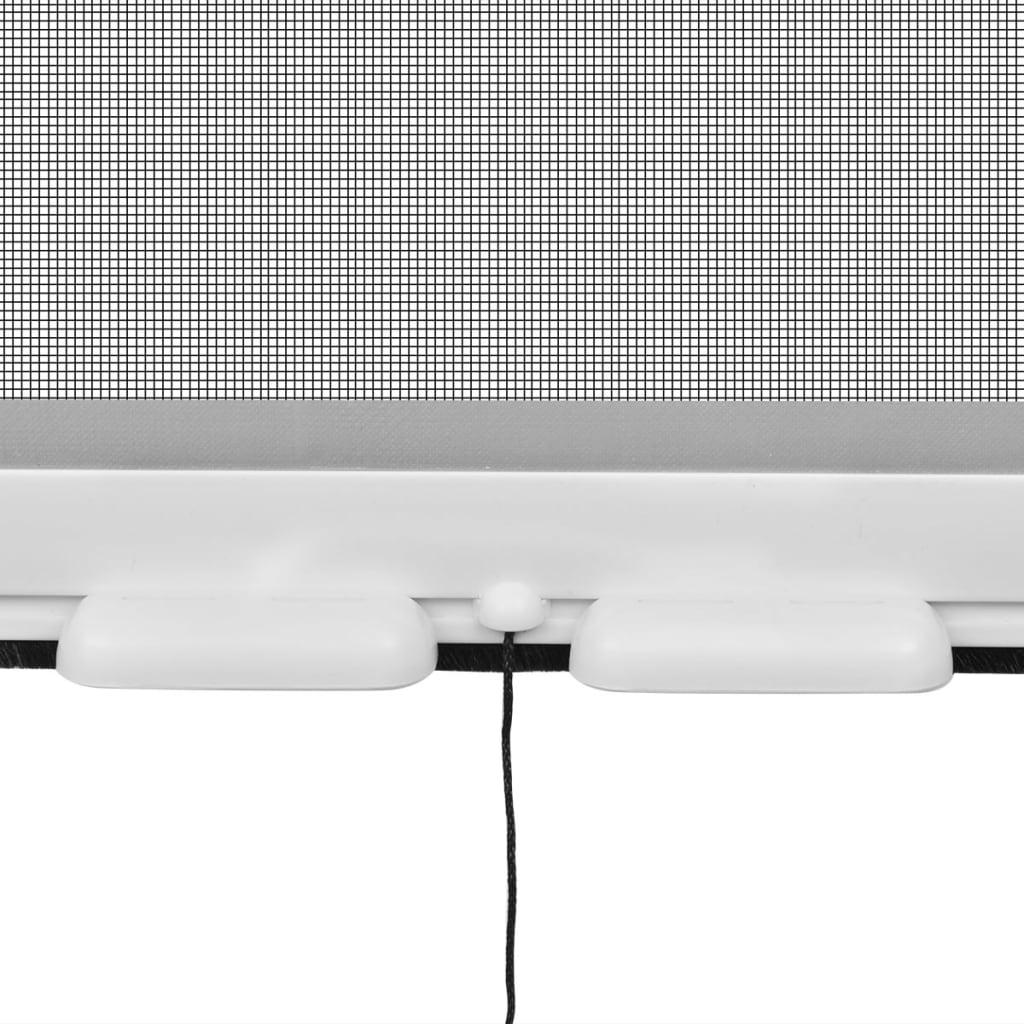acheter moustiquaire enroulable blanche pour fen tre 140 x 170 cm pas cher. Black Bedroom Furniture Sets. Home Design Ideas