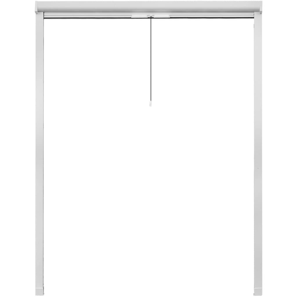 Acheter moustiquaire enroulable blanche pour fen tre 140 x - Moustiquaire fenetre enroulable pas cher ...