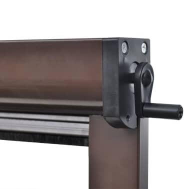 Brown Roll Down Insect Screen For Windows