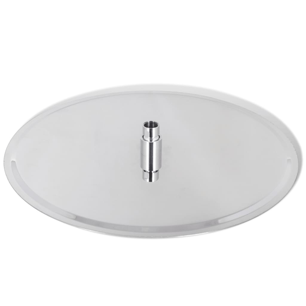 Rain shower head stainless steel cm round vidaxl