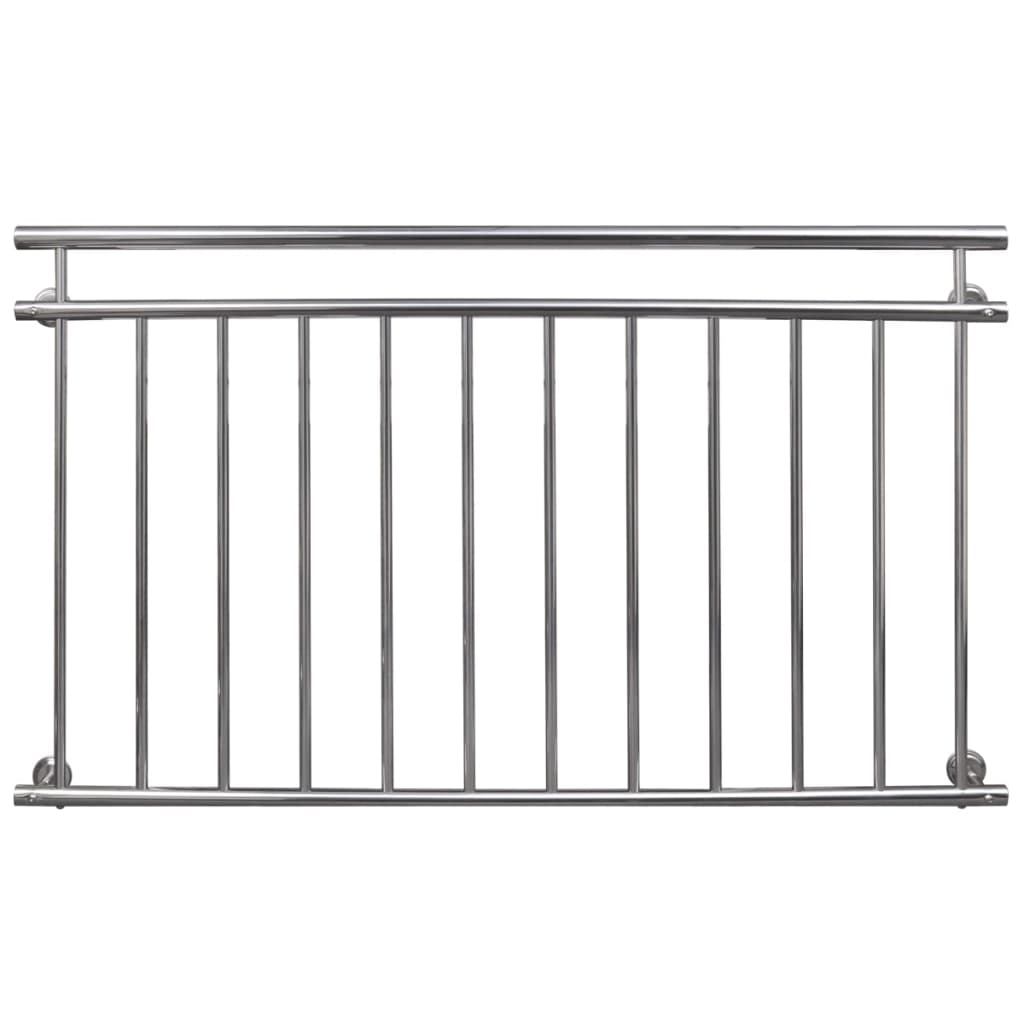 New balcony railing stainless steel balustrade handrail for Stainless steel balcony
