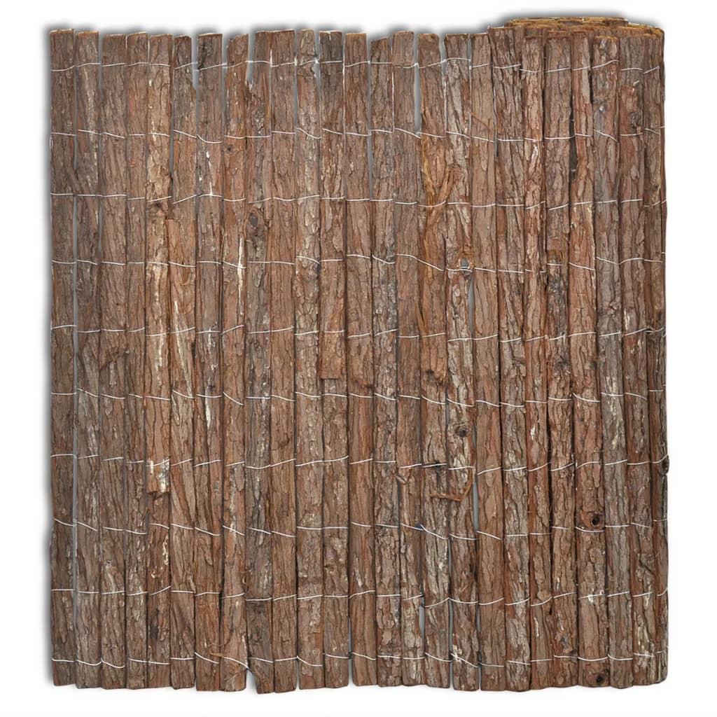 vidaXL Kéreg kerítés 400 x 150 cm