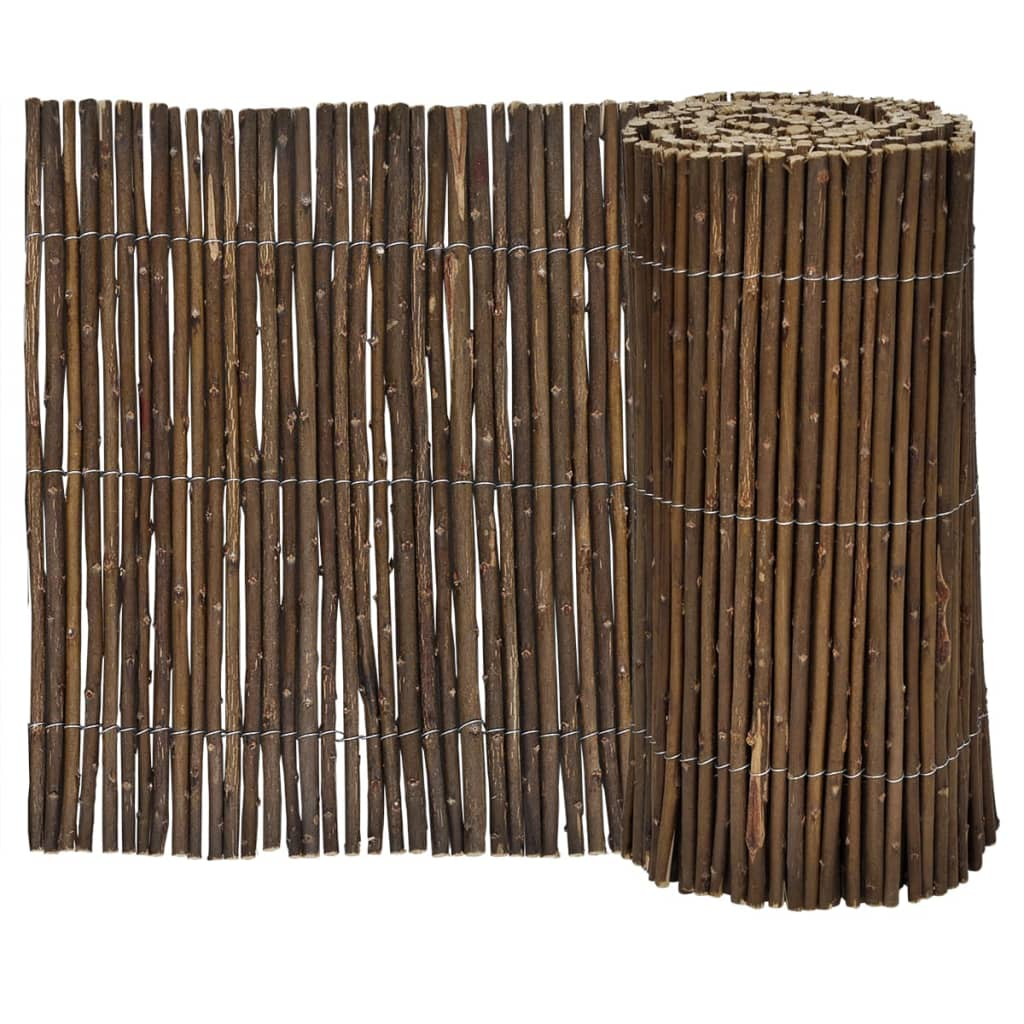 Set of 5 lawn willow divider 200 x 30 cm for Lawn divider
