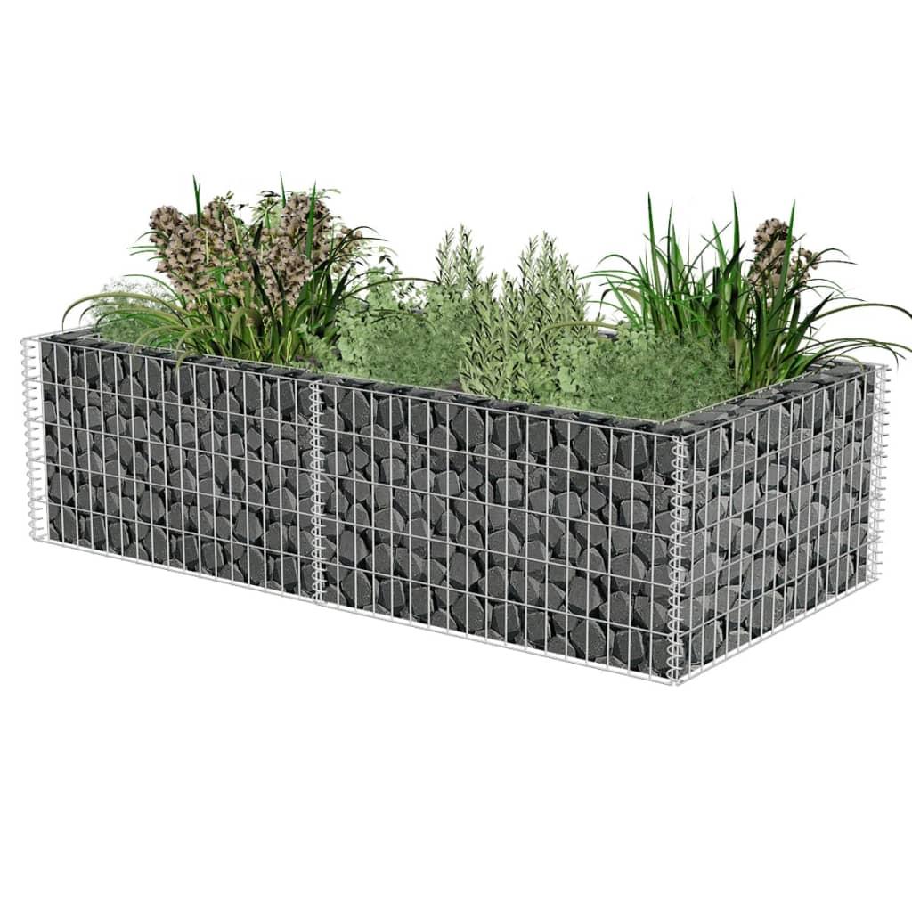 la boutique en ligne jardini re gabion 180 x 90 x 50 cm. Black Bedroom Furniture Sets. Home Design Ideas