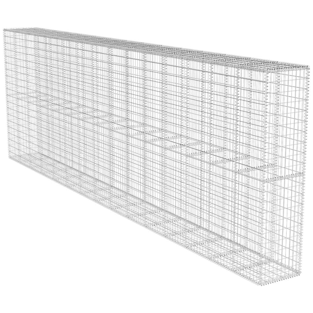 articoli per muro di gabbione con copertura 600 x 50 x 200 cm. Black Bedroom Furniture Sets. Home Design Ideas