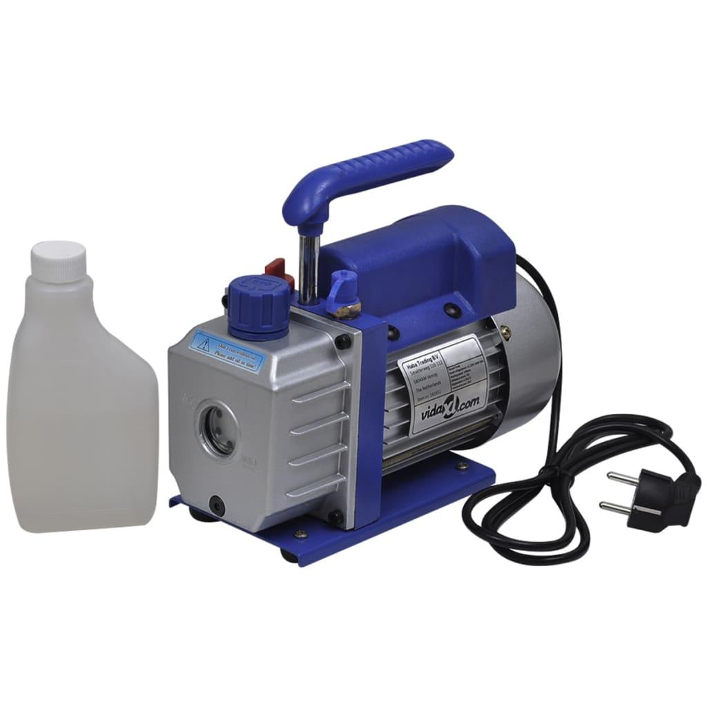 vidaXL Pompe à vide simple étage 50 l / min Cette pompe à vide est conçue pour un usage professionnel dans les syst&egrave