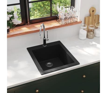 auflage k chensp lbecken granit schwarz g nstig kaufen. Black Bedroom Furniture Sets. Home Design Ideas