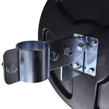 """Convex Traffic Mirror PC Plastic Black 12"""" Outdoor[5/5]"""