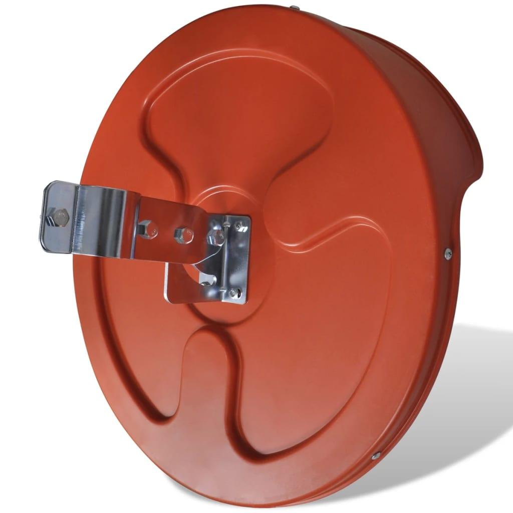 Acheter miroir convexe d 39 ext rieur orange en plastique 45 for Miroir d exterieur