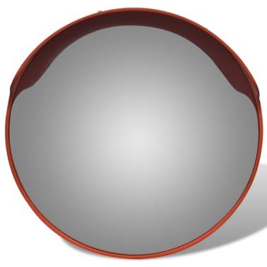 """Convex Traffic Mirror PC Plastic Orange 18"""" Outdoor[4/6]"""