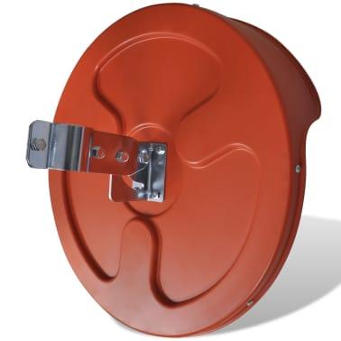 """Convex Traffic Mirror PC Plastic Orange 18"""" Outdoor[6/6]"""